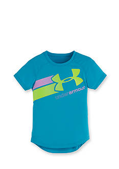 Under Armour Short Sleeve Fly By Logo Tee Toddler Girls