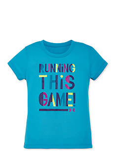 Under Armour 'Running This Game' Tee Toddler Girls