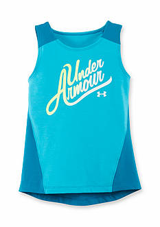 Under Armour Logo High Low Tank Top Toddler Girls