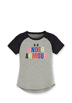 Under Armour Short Sleeve Logo Tee Toddler Girls