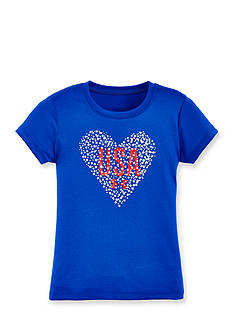 Under Armour Heart USA Tee Toddler Girls