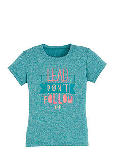 Under Armour 'Lead Don't Follow' Tee Toddler Girls