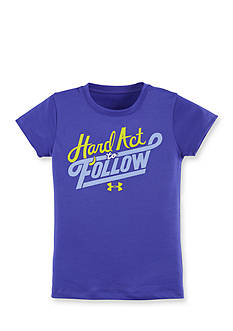 Under Armour 'Hard to Follow' Tee Toddler Girls
