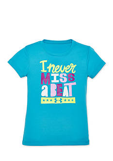 Under Armour Short Sleeve 'I Never Miss A Beat' Top Toddler Girls