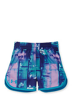Under Armour Paint Plaid Essential Shorts Toddler Girls