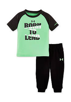 Under Armour 'Born To Lead' 2-Piece Set Toddler Boys