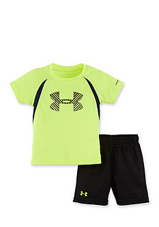 Under Armour 2-Piece Energy Big Logo Tee and Short Set