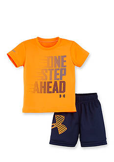 Under Armour 2-Piece One Step Ahead Tee and Short Set