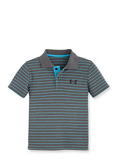 Under Armour Moisture-Wicking Striped Polo