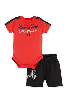 Under Armour 2-Piece Bodysuit and Short Set