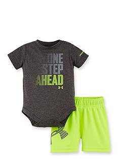 Under Armour 2-Piece One Step Ahead Bodysuit Set