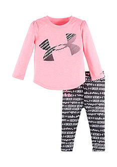 Under Armour 2-Piece Logo Tunic and Legging Set