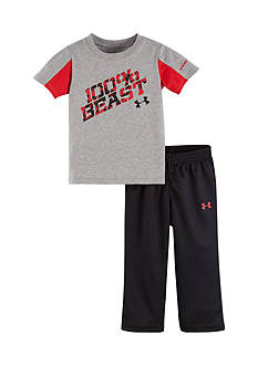 Under Armour 2-Piece '100% Beast' Shirt and Jogger Pants Set