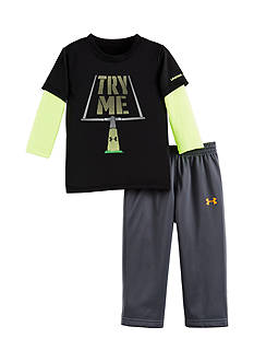 Under Armour 2-Piece 'Try Me' Tunic and Pants Set