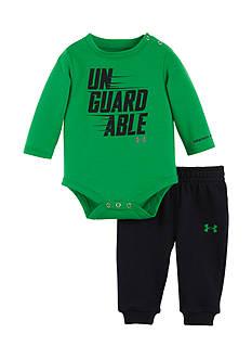 Under Armour Un-Gaurdable Long Sleeve Set