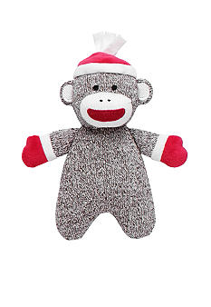 Rashti & Rashti Sock Monkey Holiday Plush