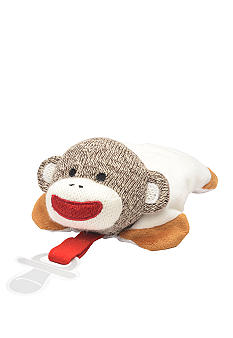 Rashti & Rashti Sock Monkey Pacifier Keeper