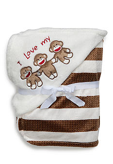 Rashti & Rashti Sock Monkey Love Blanket