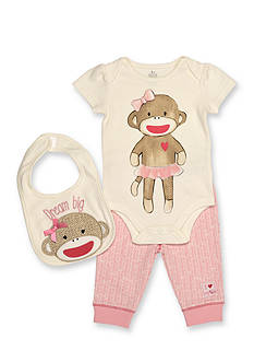 Rashti & Rashti 3-Piece Sock Monkey Iconic Collection Set