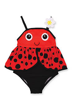 Candlesticks&reg Ladybug One Piece Swimsuit Toddler Girls