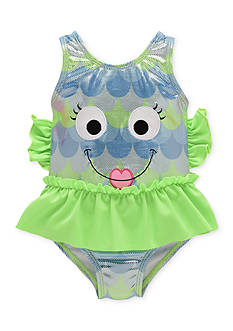 Candlesticks&reg One Piece Foil Fish Swimsuit