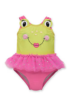 Candlesticks&reg Frog Tutu One-Piece Swimsuit Toddler Girls