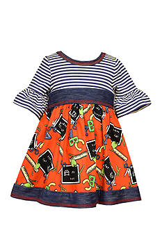 Bonnie Jean Back To School Knit Dress Infant/Baby Girls