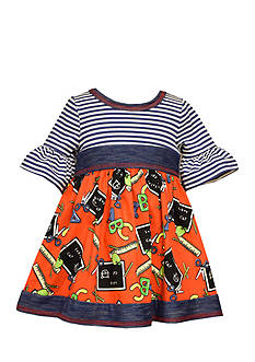 Bonnie Jean Back To School Knit Dress Toddler Girls