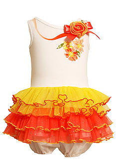 Bonnie Jean Color Block Tutu Dress