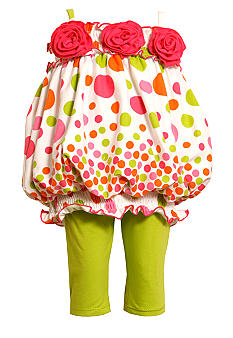 Bonnie Jean Dot Bubble Set Toddler Girls