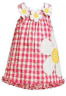 Bonnie Jean Daisy Seersucker Dress Toddler Girls
