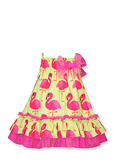 Bonnie Jean Flamingo Dress