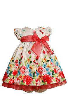 Bonnie Jean Floral Shantung Dress