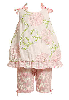 Bonnie Jean Soutache Bubble Set Toddler Girls