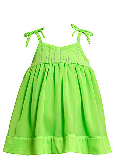 Bonnie Jean Foil Dress Toddler Girls