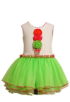 Bonnie Jean Icecream Tutu Dress Toddler Girls