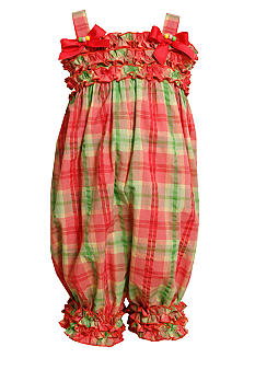 Bonnie Jean Seersucker Romper Toddler Girls