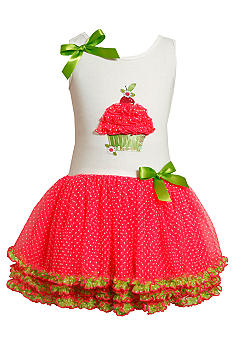 Bonnie Jean Neon Cupcake Tutu Dress Toddler Girls