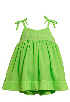 Bonnie Jean Neon Chiffon Dress