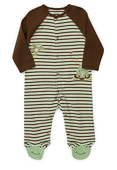 Little Me Frog Footie - Newborn