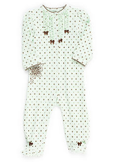 Little Me Floral Footie