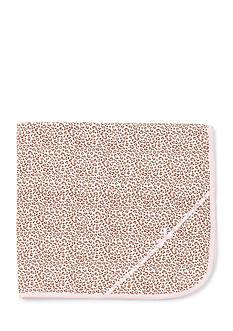 Little Me Leopard Receiving Blanket