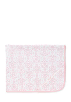 Little Me Damask Receiving Blanket