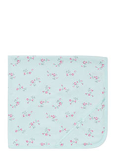 Little Me Floral Receiving Blanket