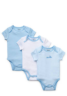 Little Me 3-Pack Train Bodysuit