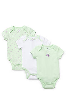 Little Me Petite Rose 3-Pack Bodysuits