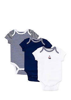 Little Me 3-Pack Sailboat Bodysuits