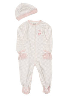 Little Me Newborn Girl Ballerina Footie
