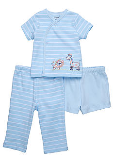 Little Me 3-Piece Animal Diaper Pant Set