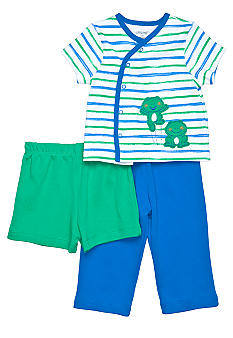 Little Me 3-Piece Frog Set